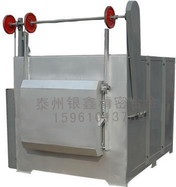节能全纤维台车式电阻炉